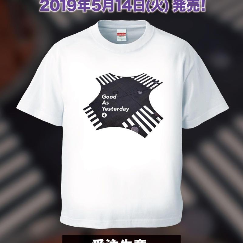 「Good As Yesterday ❹」発売記念Tシャツ[受注生産]