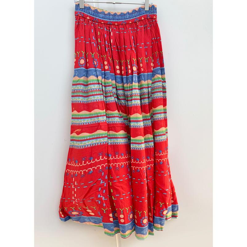 M select line skirt【U】