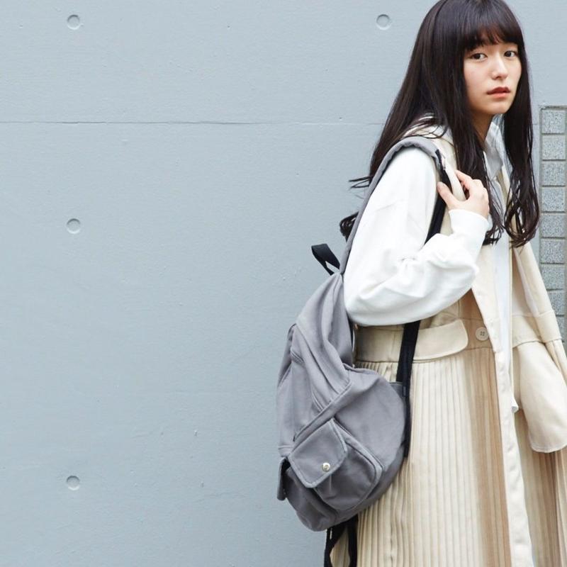 sakishima tokyoリュック gray