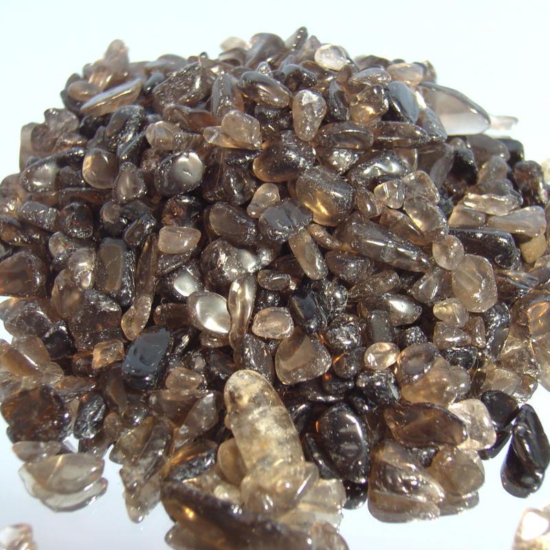 天然モリオン(黒水晶) さざれ石 100g