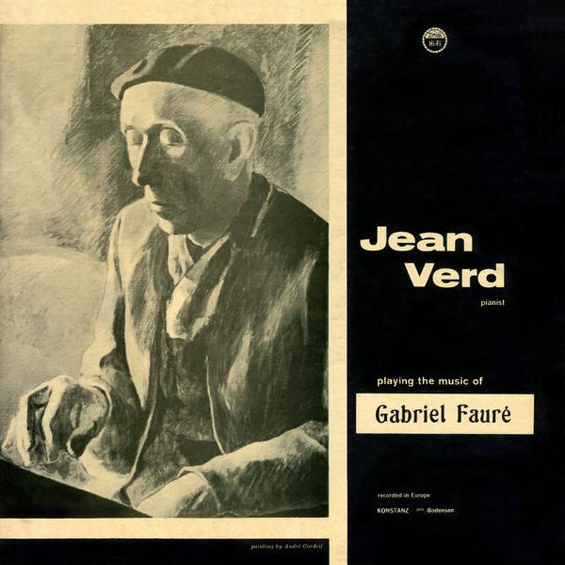 Jean Verd playing the music of Gabriel Faure