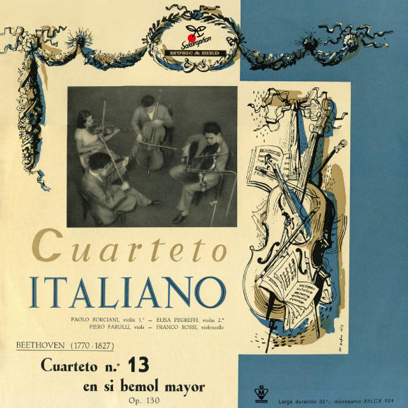 Quartette Italiano : Beethoven String Quartet No.13 in B-Flat Major, Op.130 (This is Digital Item)