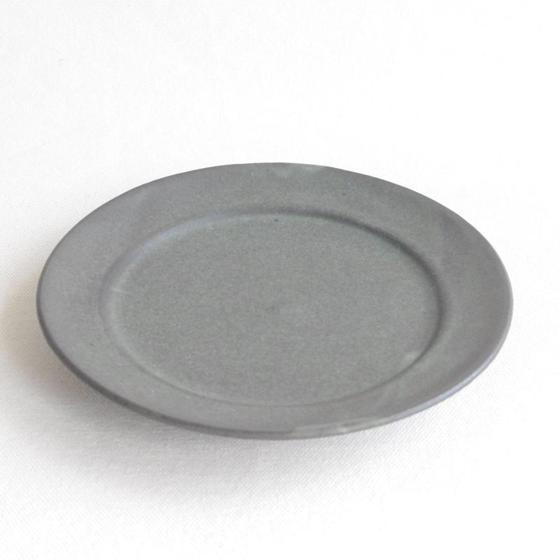 伊藤叔潔  6寸リム皿