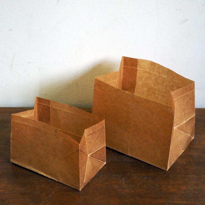 蝋引紙袋  角底0.5型