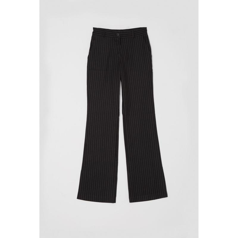 Stripe slacks pant