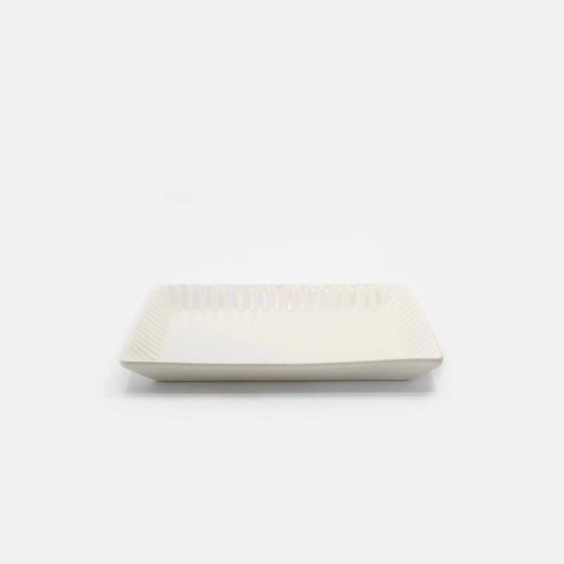 Stripe Toast Plate