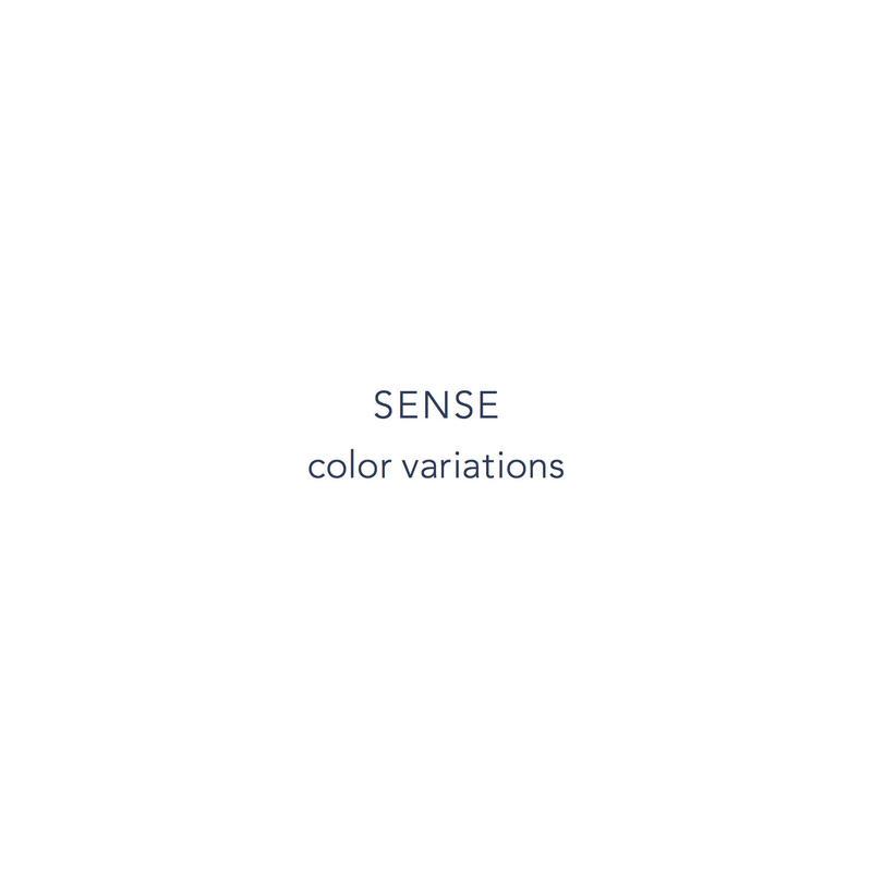 SENSE color variations
