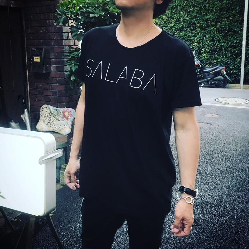 SALABAロゴTシャツ BLACK