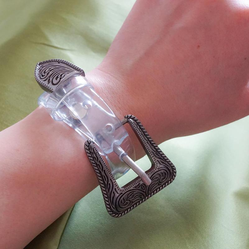 Western Clear Bracelet