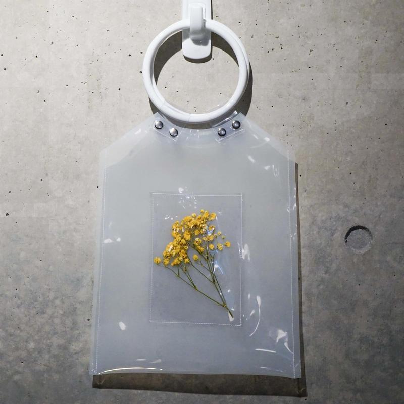Flower PVC Bag  ●White●   -7/6までに発送分-