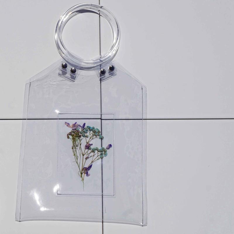 Flower PVC Bag  ●Clear●   -7/6までに発送分-