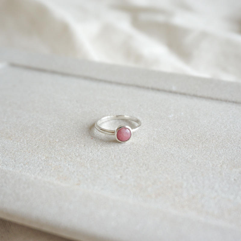 Rhodonite Ring