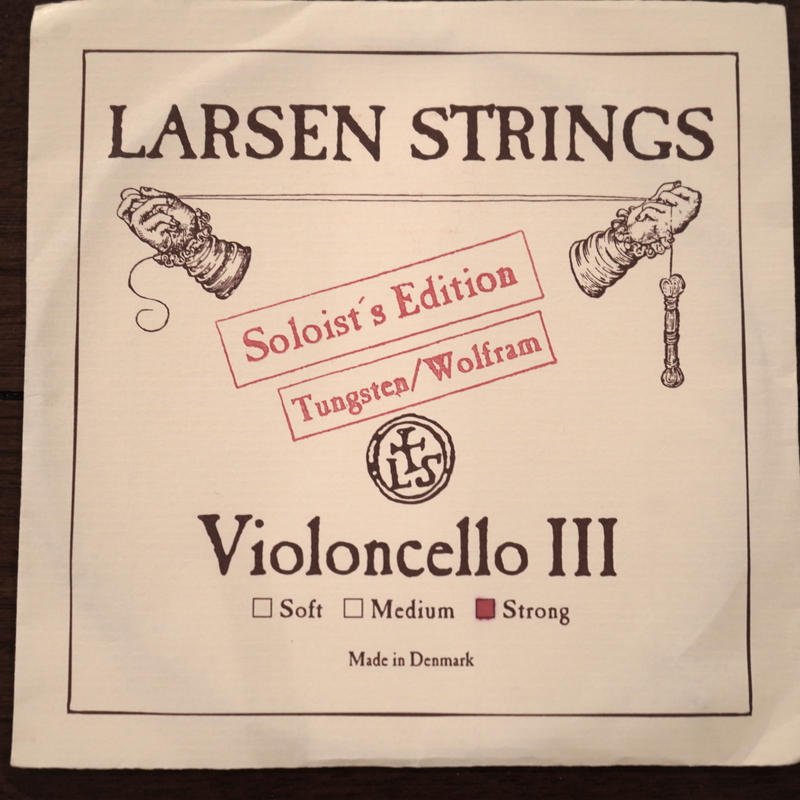 LARSEN ラーセンチェロ弦 3番線ソリストエディション  strong