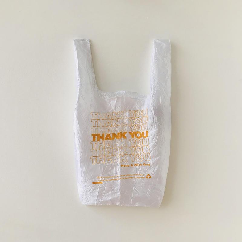 Lauren Dicioccio / thank you tote / yellow