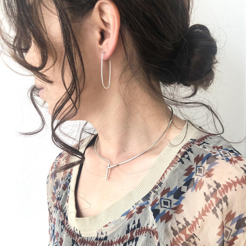 cinq / Embrace neck cuff / silver / シンク /ネックカフ /シルバー