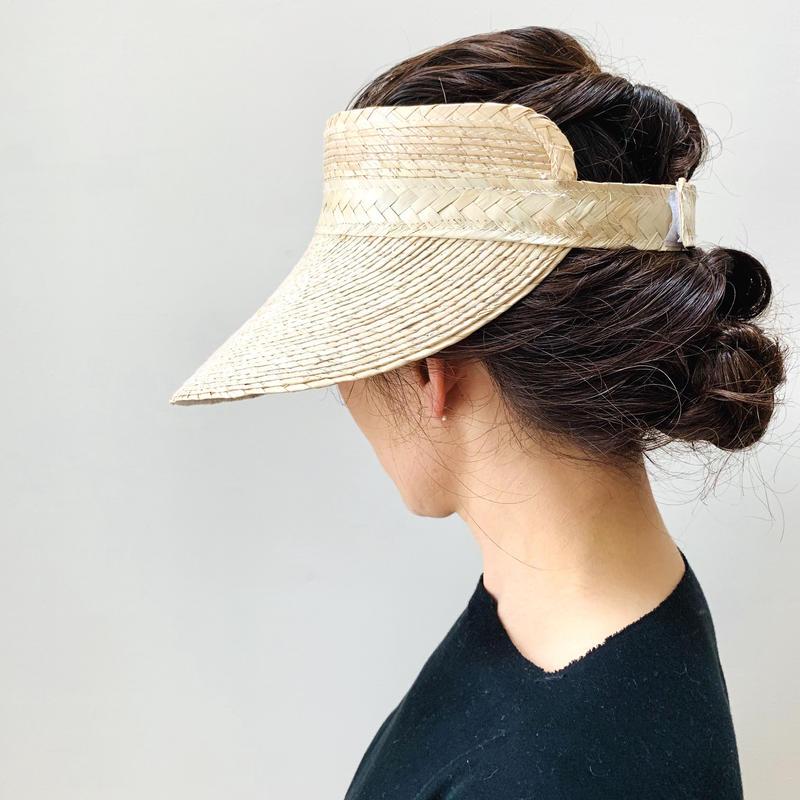 pips / palm leaf  knotted sun visor / ピップス / サンバイザー/ ヤシの葉