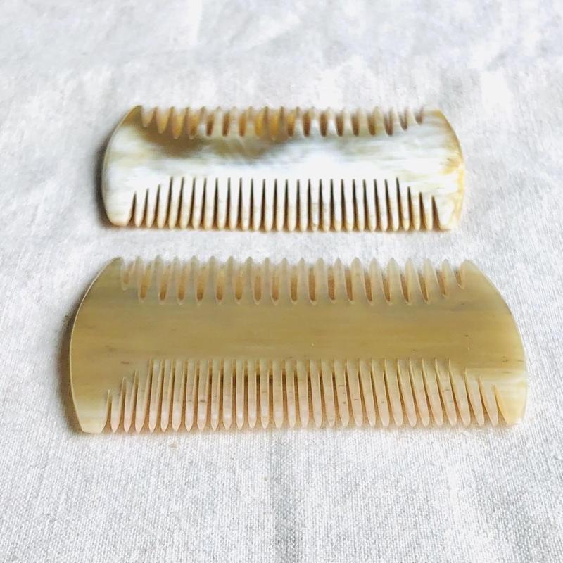 Kostkamm / Horn comb / 6cm / narrow / extra narrow / コストカム /水牛櫛