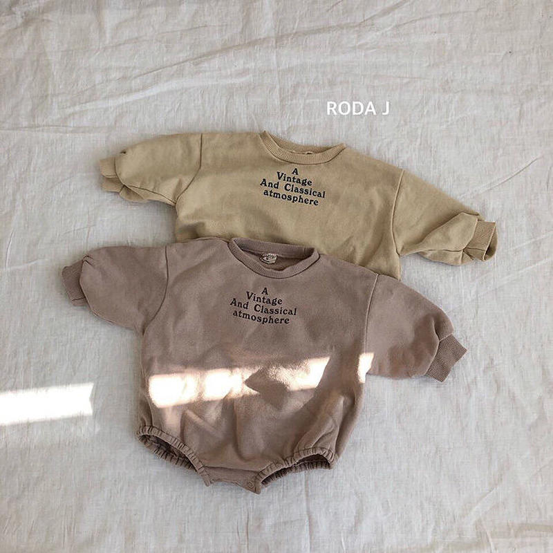 RODA/トレーナーロンパース