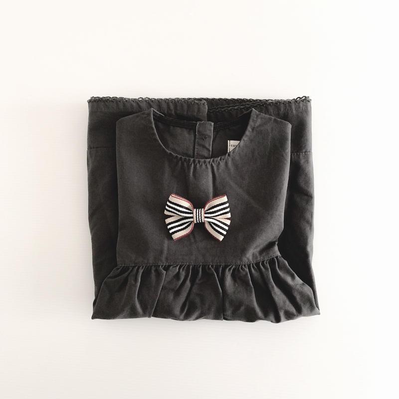 Cottonmill/ブラックワンピース