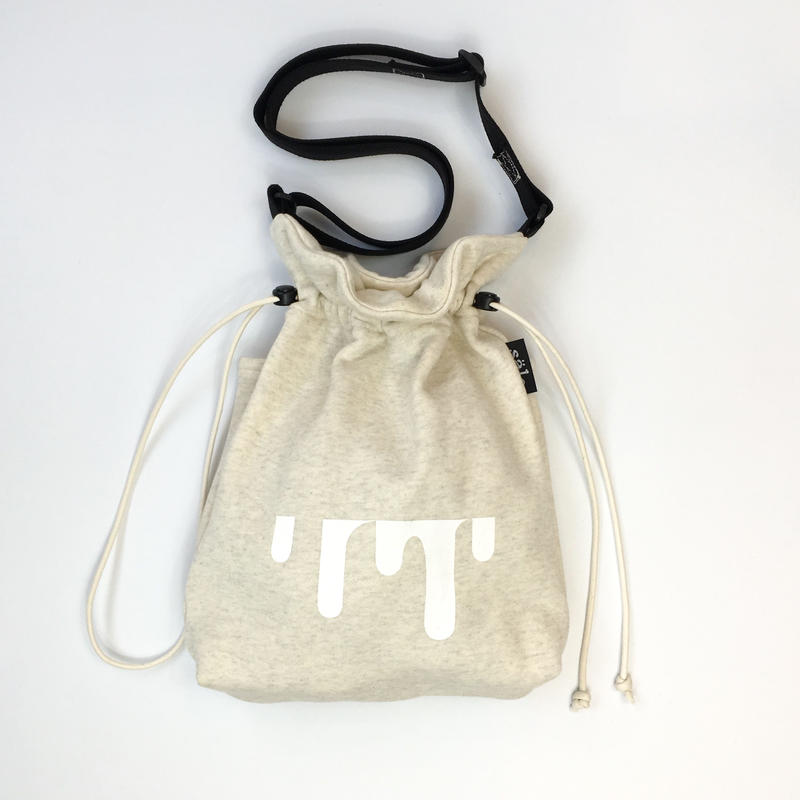 sweat sholder bag  杢beige