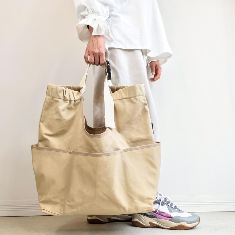 arch strap bag beige