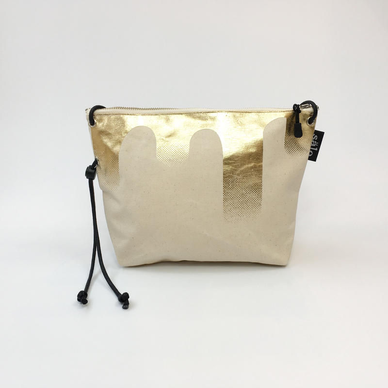 sacoche bag gold foil sag