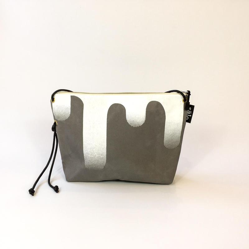 sacoche bag  sag  gray