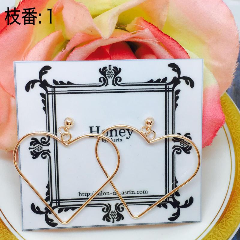 Honey ピアス 3  <P-H-3>