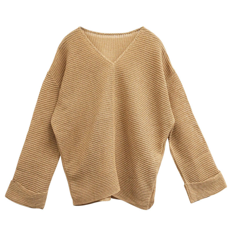 WASHI MIX KNIT PULLOVER