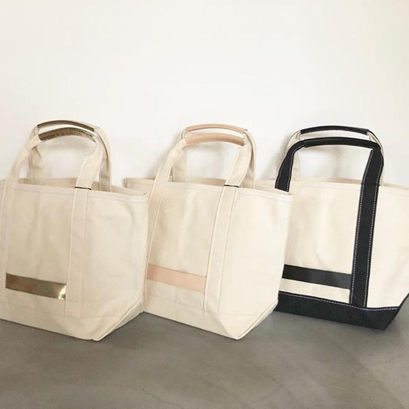 『TEMBEA/OPEN TOTE CANVAS LEATHER』