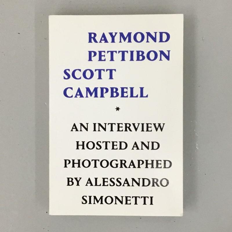 "Raymond Pettibon, Scott Campbell ""On jail, Art, Horce Races & Bolony Sandwiches"""