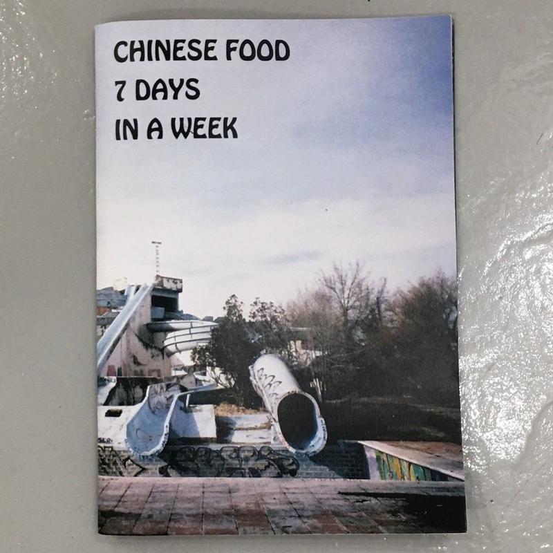 "TAISHI NISHIHIRO ""Chinese Food 7 Days In A Week"""