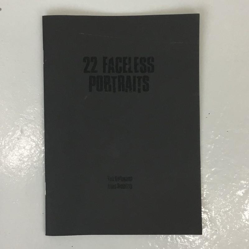 "Tim Kotmann & Anna Sinofzik ""22 Faceless Portraits"""