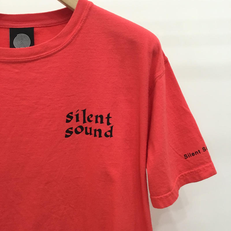 Silent Sound Font Logo Tee Red