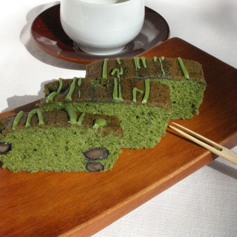黒豆抹茶パウンドケーキ