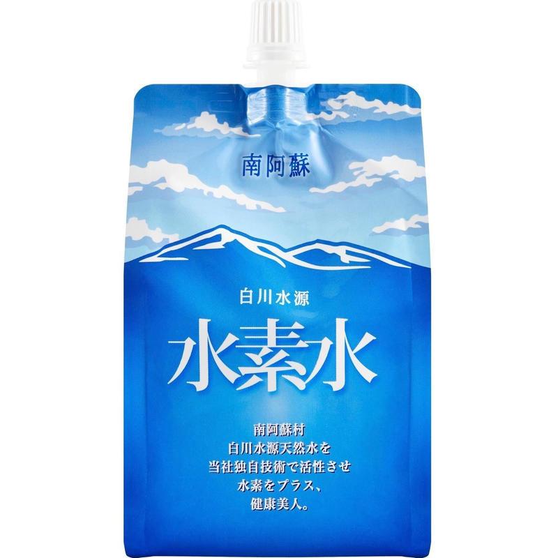 【送料無料】熊本県 白川水源天然水で作った水素水 お試しコース (300ml 15本入り)