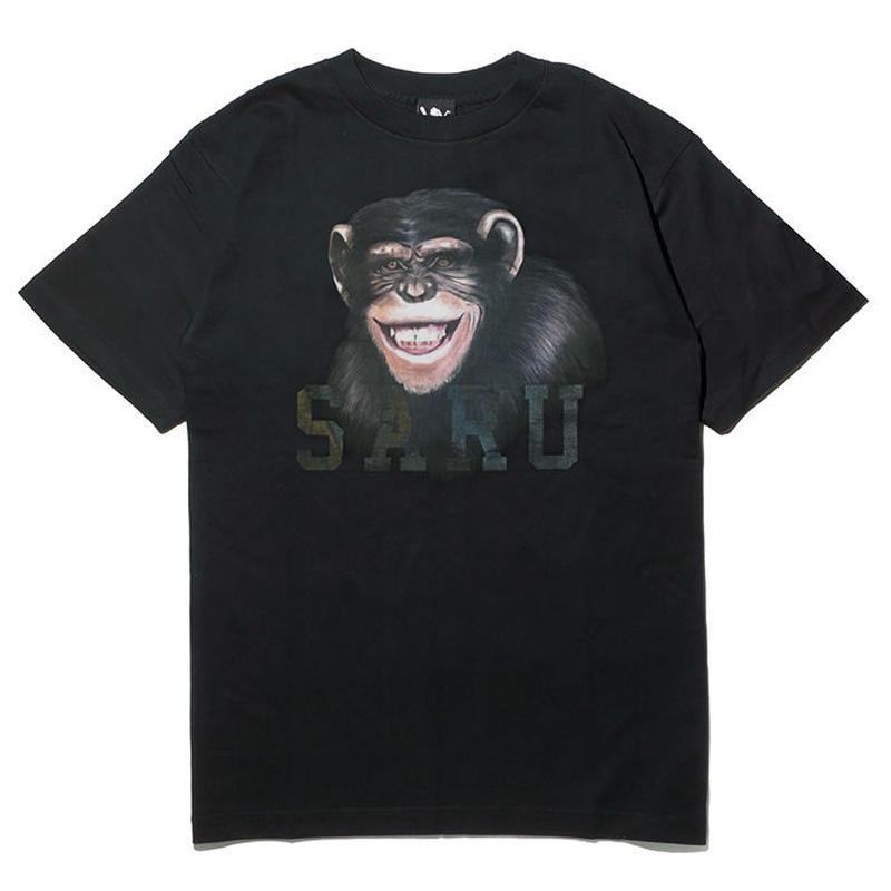 チンパンジーSARU Tee[BLACK]