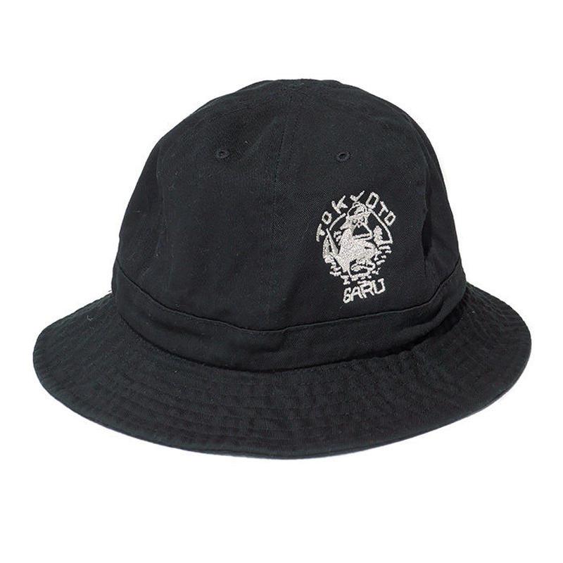 TOKYOTO SARU刺繍ハット[BLACK]
