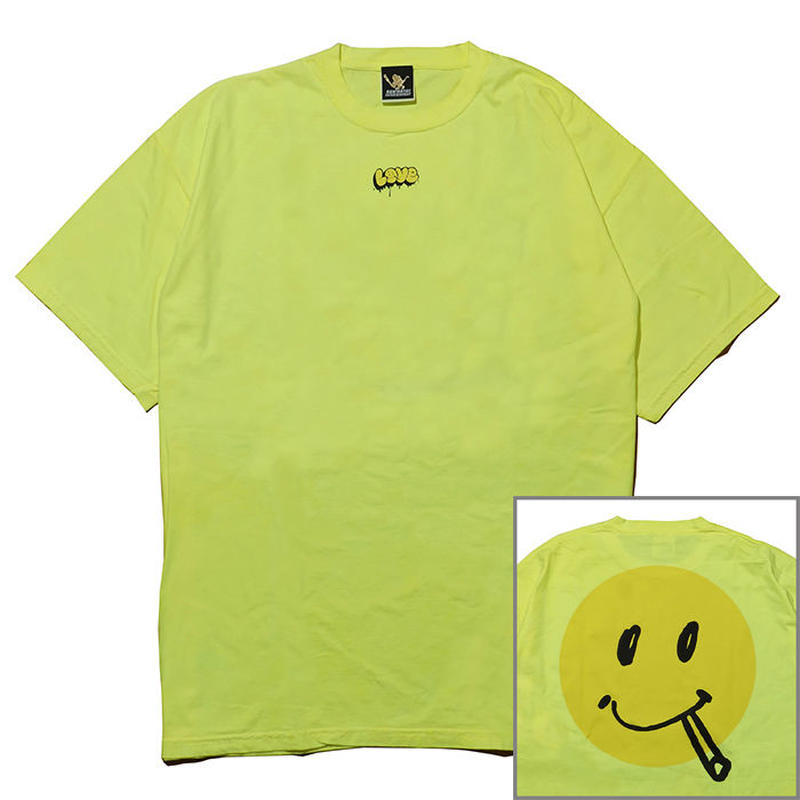 LOVE SMILE Tee[Yellow]