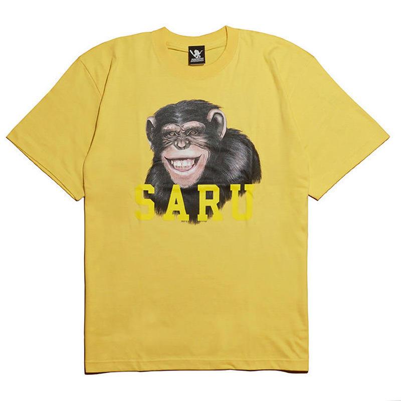 チンパンジーSARU Tee[YELLOW]