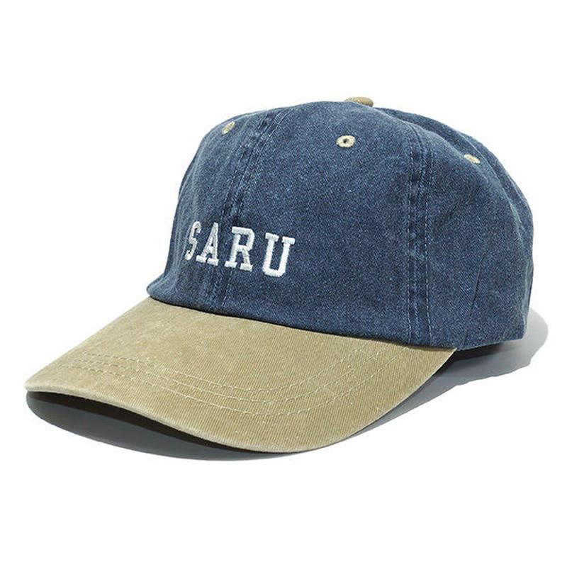 SARU 2トーンキャップ[NAVYxBEIGE]