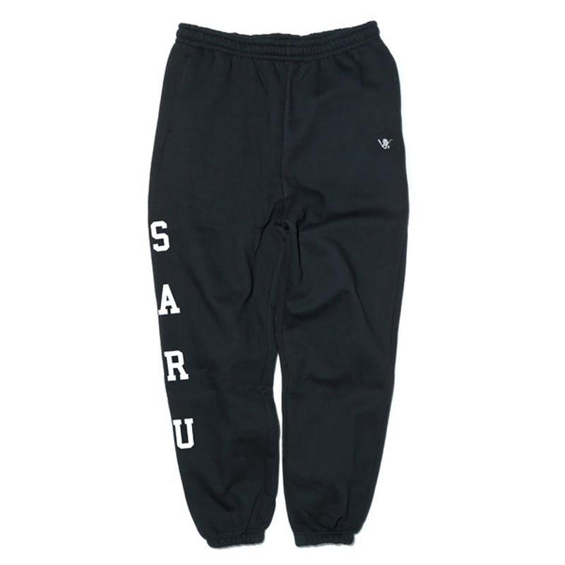 SARU SIDE スウェットパンツ[BLACK]