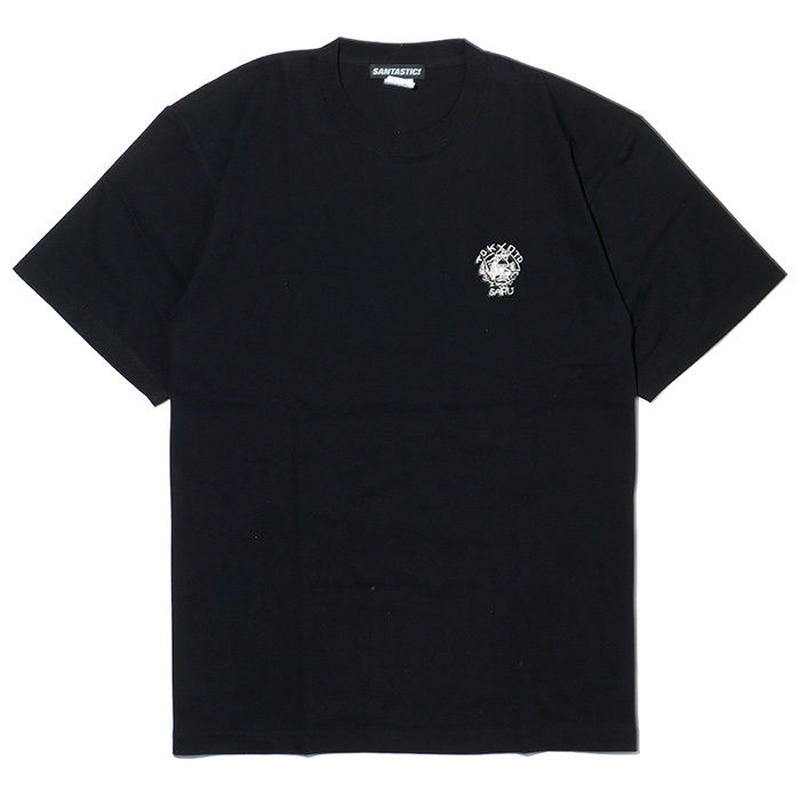 TOKYOTO SARU刺繍Tee[BLACK]