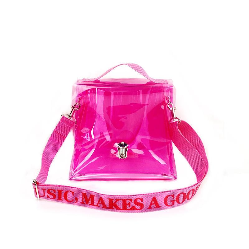 7inch  PVC Record BAG/Pink×Pink