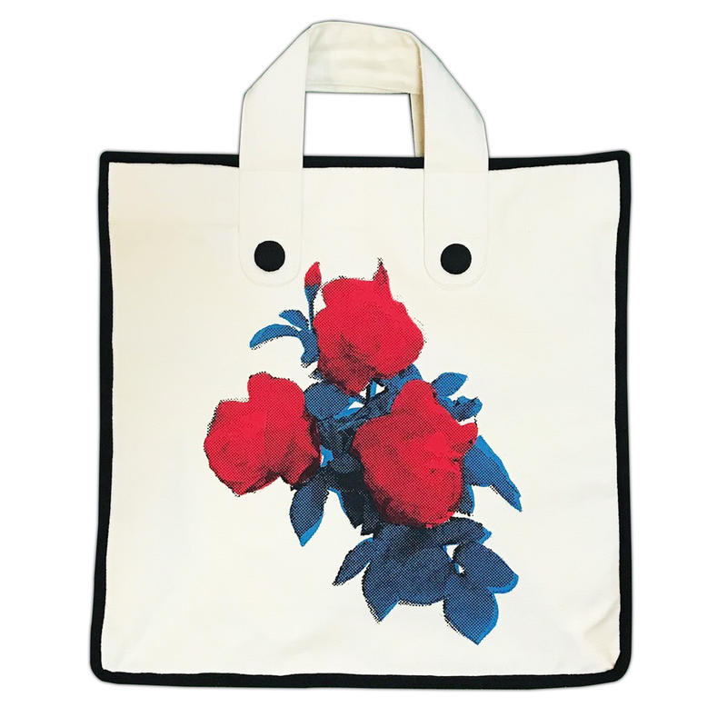 Rose Garden BAG/White(Black Line)