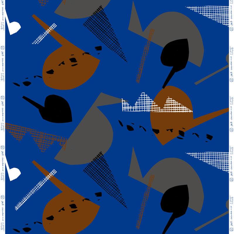 OX FABRIC <Fresh Blue>