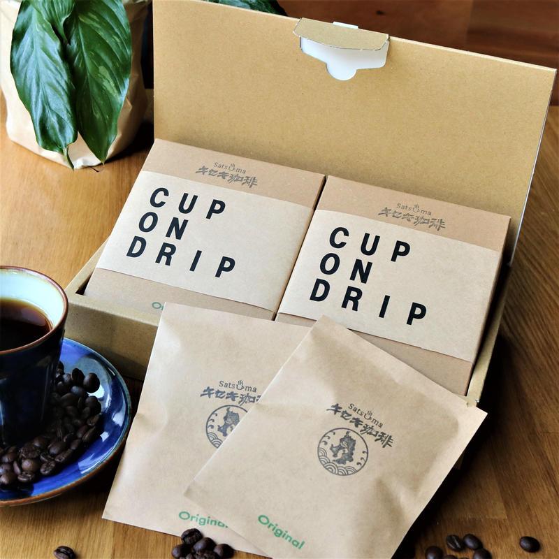 自家焙煎キセキ珈琲 ドリップパックギフトボックス  オリジナルブレンド12P
