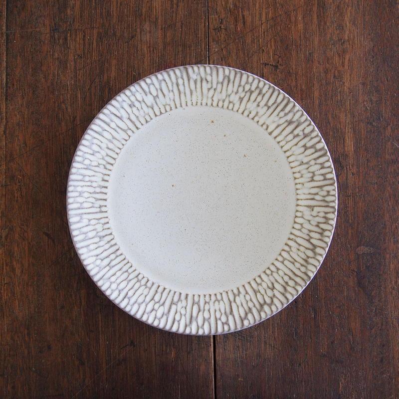 シモヤユミコ リム皿7寸