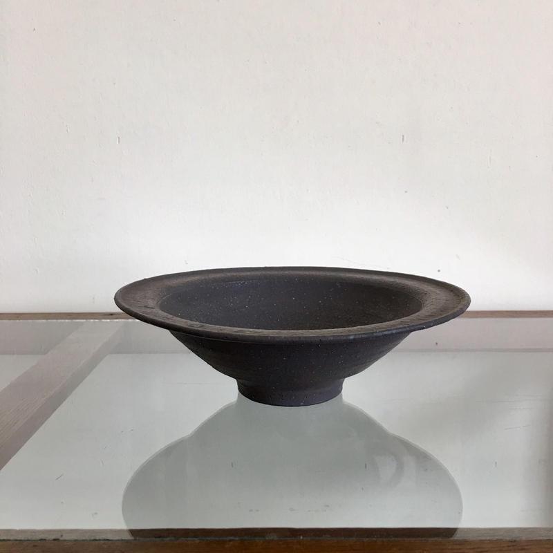 石川裕信  リム鉢(黒)