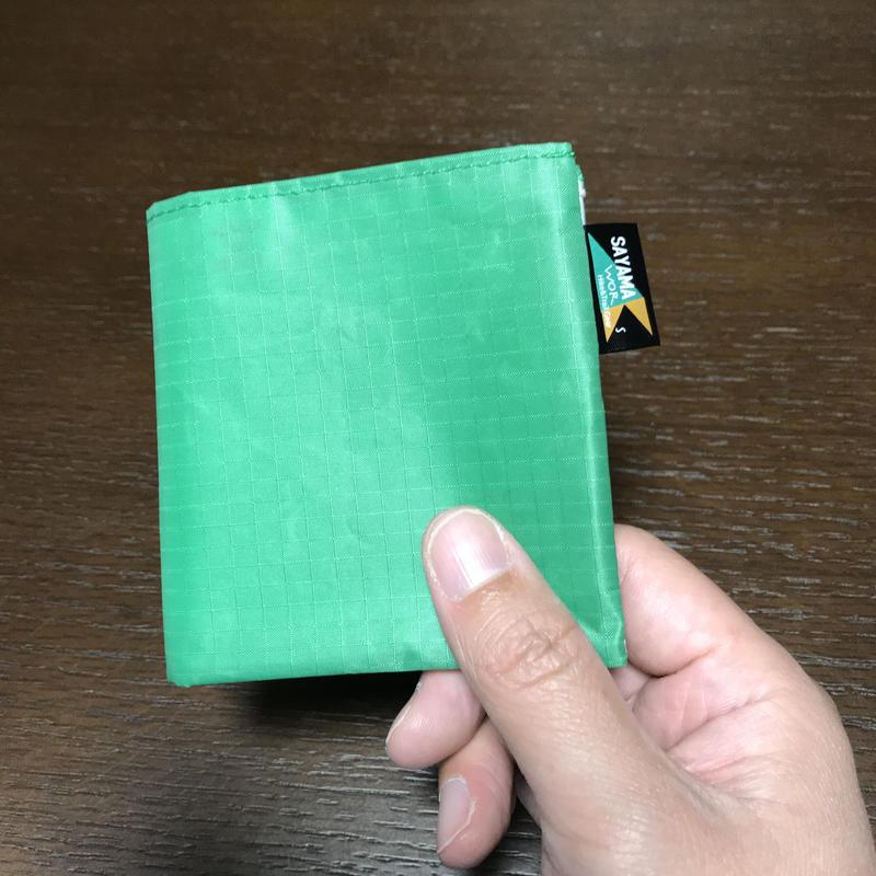 ミニマリストウォレット Fibermax64 グリーン